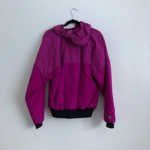 Vintage Jackets & Coats - Arctic Cat Snow Machining Pullover Pink Size Small